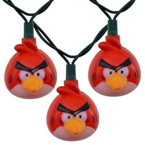 Angry Bird Party String Lights Angry Birds Lights