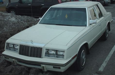 chrysler lebaron 1982 chrysler le baron sedan related infomation