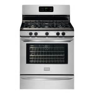 home depot oven frigidaire gallery 30 in 5 0 cu ft gas range with self