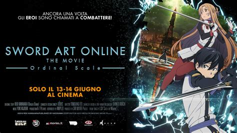 sword art online film 2017 sword art online the movie ordinal scale il film di sao