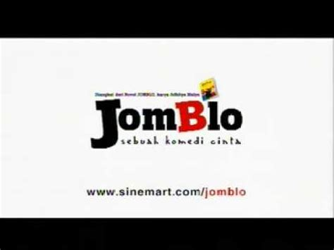 film jomblo the series jomblo trailer youtube