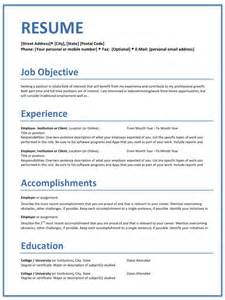 resume templates home office careers