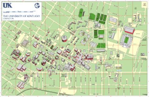 map uky cus guide of kentucky