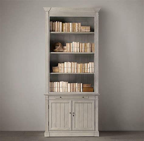 Library Single Bookcase Restoration Hardware Office Restoration Hardware Bookshelves