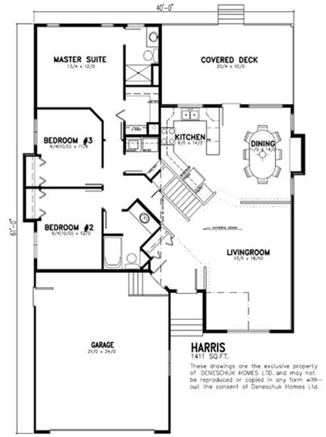 deneschuk homes ltd ready to move rtm harris home plan