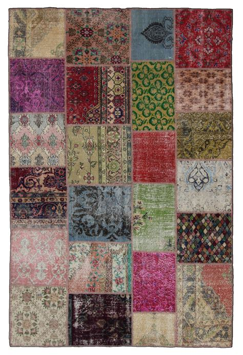 How To Make A Patchwork Rug - patchwork carpet floor matttroy