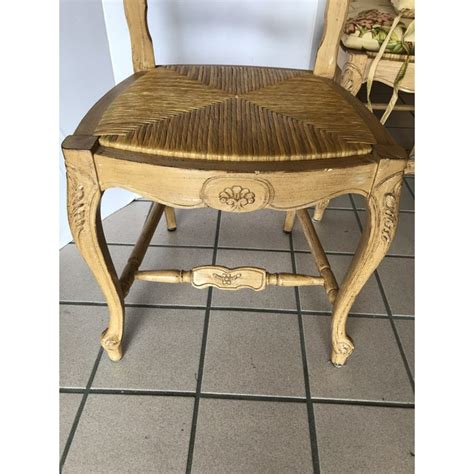 country french ladderback dining chairs  custom