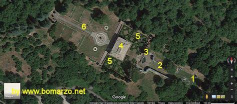 palazzo farnese caprarola giardini palazzo farnese a caprarola mappa degli esterni