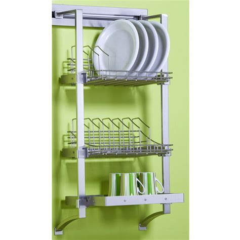 kitchen dish rack ideas wall mounted dish rack intersiec com