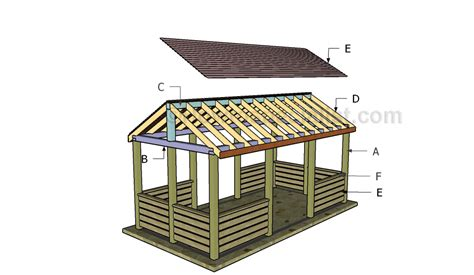 how to build a backyard pavilion outdoor pavilion plans howtospecialist how to build