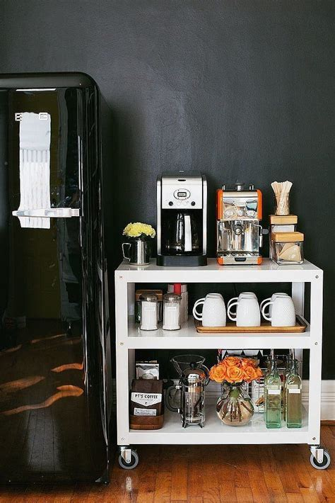 Kitchen Bakers Cabinet by 20 Charming Coffee Stations To Wake Up To Every Morning