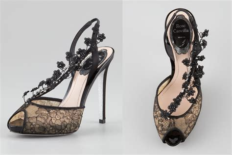 illusion wedding shoes for 2013 brides black lace onewed