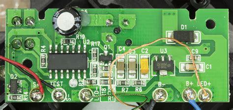 light circuit board let s open solar motion sensor led light from vont