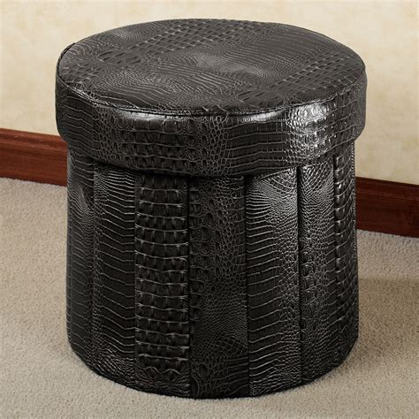 how to make a round ottoman with storage furniture amazing round storage ottoman for home