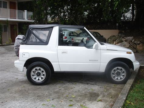 Suzuki Vitara Soft Top For Sale White Suzuki Vitara For Sale