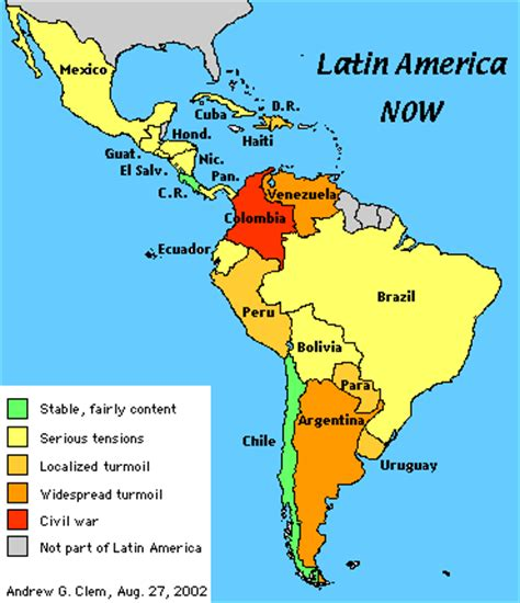map of latin america latin america is made up of mexico my view by silvio canto jr the latin america show this