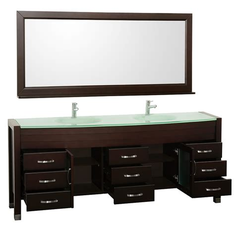 78 Bathroom Vanity 78 Quot Daytona Double Sink Vanity Espresso Bathgems Com