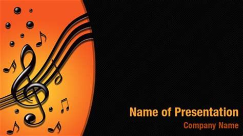 presentation music themes musical chairs powerpoint templates powerpoint
