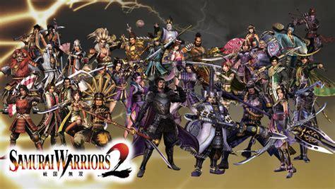 Wallpaper Gracia Garden Ii 009 samurai warriors 2 roster by the4thsnake on deviantart