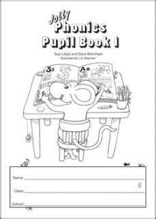 Jolly Phonics Pupil Book 1 (B & W) – phonickidsonline