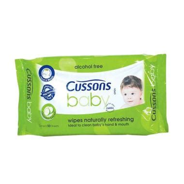 Cussons Baby Wipes Naturally Refreshing 50 30s jual cussons baby naturally cussons baby freshing harga kualitas terjamin blibli