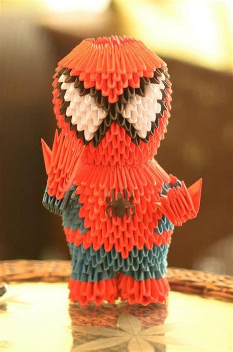 3d origami spider man tutorial spider man album dang dinh thanh 3d origami art
