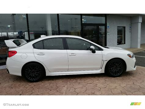 sti subaru 2016 black 2016 crystal white pearl subaru wrx sti 109978552 photo