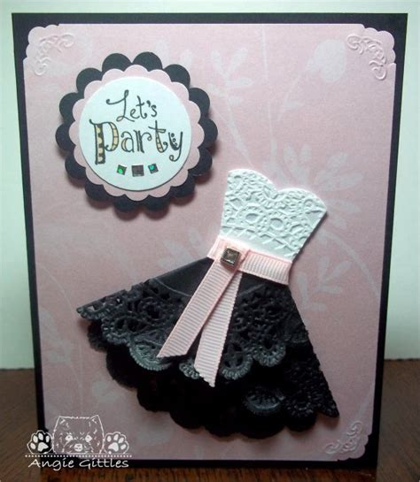 How To Make Paper Lace - 25 unique dress card ideas on wedding card
