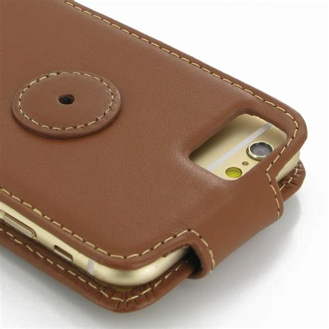 Poodle Brown Handmade For Iphone 6 6s 6 6 Murah iphone 6 6s leather flip top carry brown pdair