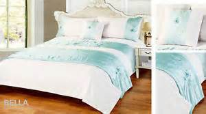 King Size Bed Runner King Size Blue Bed In A Bag Set With Runner Cushion