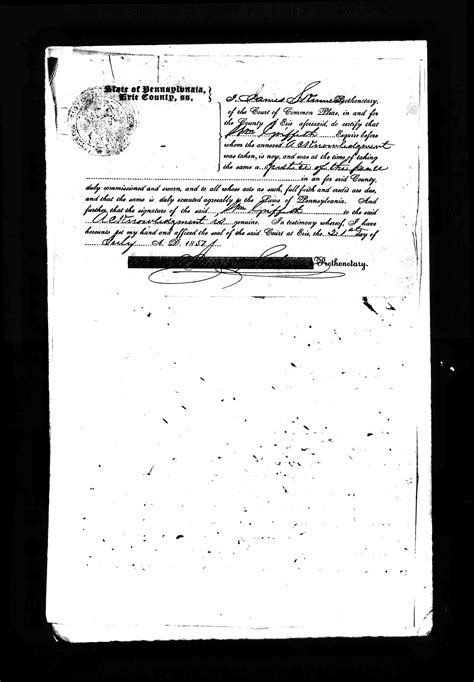 Erie County Common Pleas Court Records Belnap 1760 1854