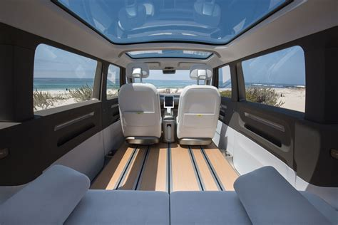 volkswagen concept van interior people are crazy for the new vw bus here s why