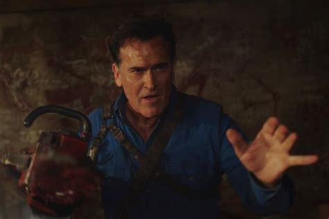 hollywood movie evil dead part 3 ash finds death and daughter in ash vs evil dead season