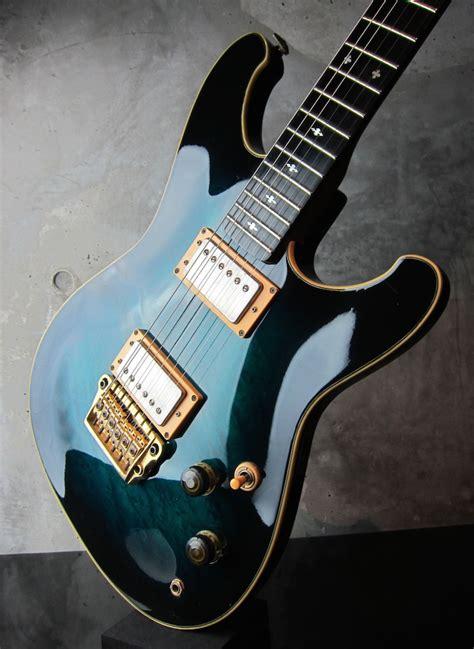 Guitar Ibanez Steve Lukather 1984 ibanez rs1010sl roadstar ii steve lukather model 1983 aqua