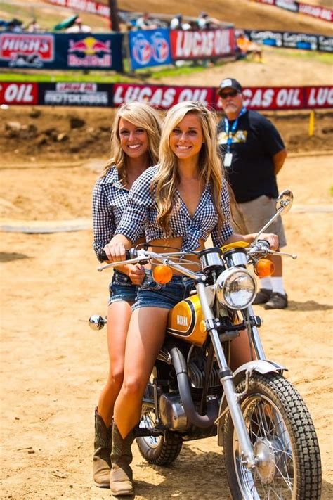 pro female motocross lucas oil girls getting ready for outdoor motocross season