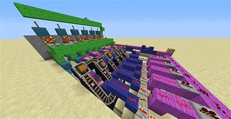 minecart storage system minecraft project