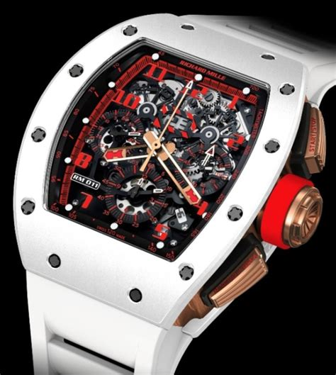 richard mille am 011 ag 011 72661 richard mille rm 011 white freshness mag