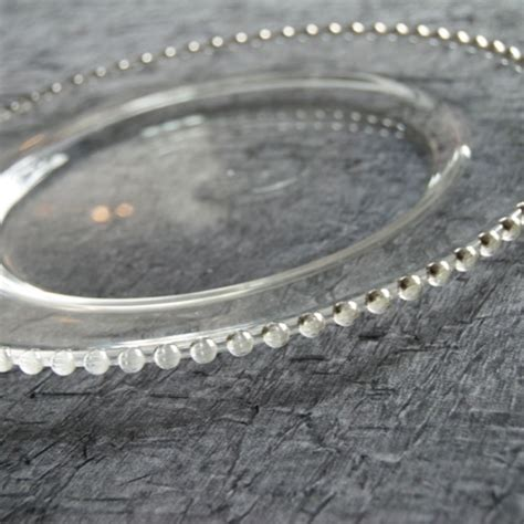 clear beaded charger plates contempo linens charger plates glass bead clear