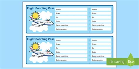 printable bus tickets for role play editable airline boarding pass airport role play pack