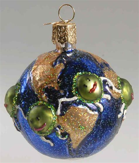 merck familys old world christmas ornament world peace