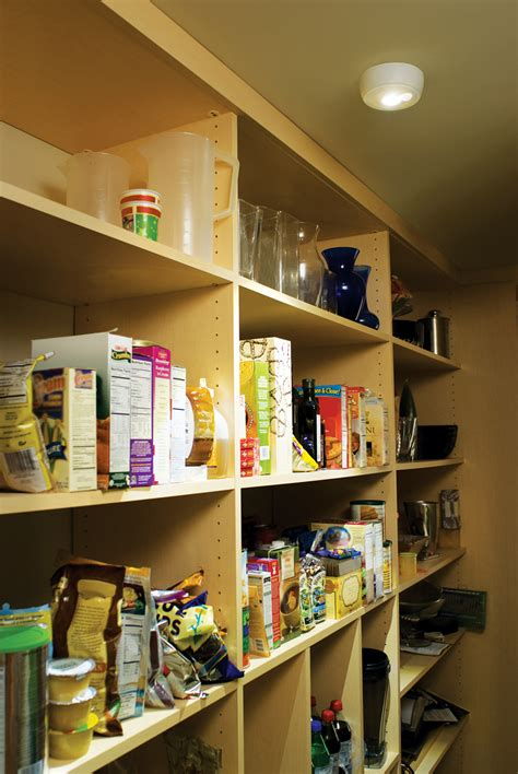 Led Pantry Lighting by Wireless Motion Sensor Led Ceiling Light By Mr Beams