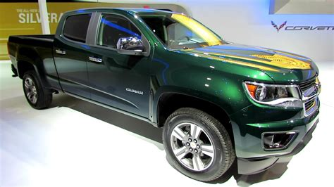 chevy colorado green 2015 chevrolet colorado lt exterior and interior