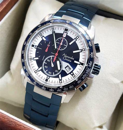 jual jam tangan alexandre christie pria original ac