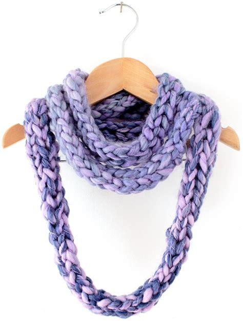 infinity scarf pattern knit free finger knit infinity scarf allfreeknitting