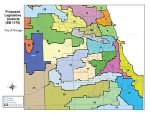 Chicago Districts Map by Maps Of Illinois Redistricting Plans Released Chicago