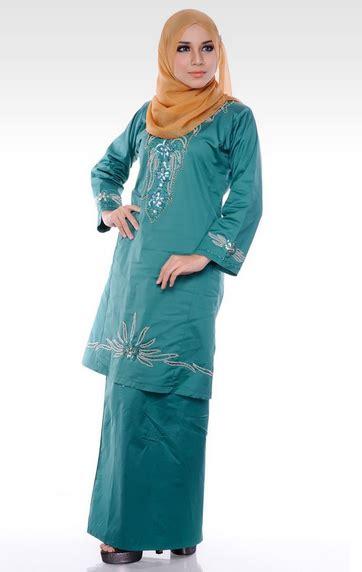 model baju melayu terbaru model baju kurung terbaru batik melayu kombinasi bordir