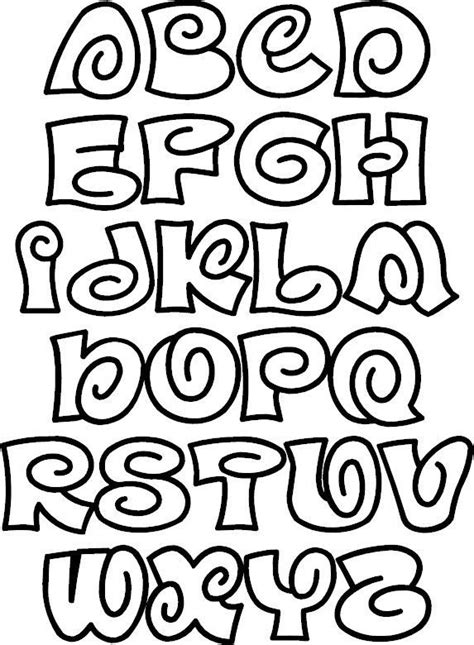 printable color fonts fun spiral font 166 from color the alphabet fonts