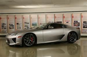 the last lexus lfa shipped to america gets delivered