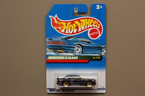 Hotwheels Mercedes C Class wheels 1999 x cruiser series mercedes c class purple