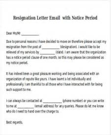Resignation Letter Format Before Notice Period 38 Resignation Letter Format Free Premium Templates